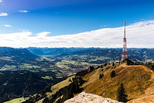 Greened, Allgäu, Alpine Foothills, Mountain, Landscape