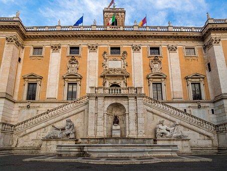 Italy, Europe, Rome, Campidoglio, Architecture, Culture