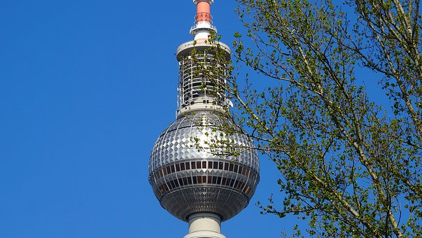 Berlin, Tv Tower, Alexanderplatz, Capital, Alex