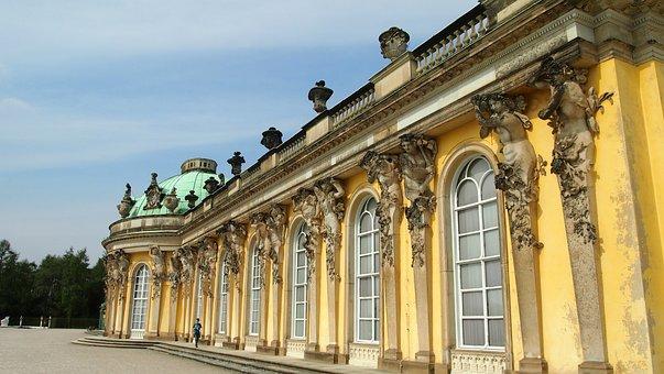 Potsdam, Berlin, Sans, Castle Sanssouci, Historically