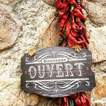 Open, Southwest, Chiles, New Mexico, Santa Fe, Door