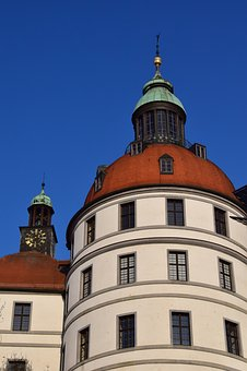 Neuburg, Castle, Church Religious, Bavaria, Danube