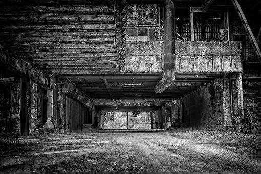 Lost Places, Tunnel, Dark, Weird, Mood, Architecture