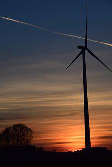 Pinwheel, Current, Wind Power, Energy