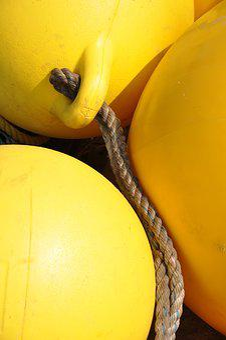 Sea, Buoy, Safety, Life Buoy, Equipment, Background