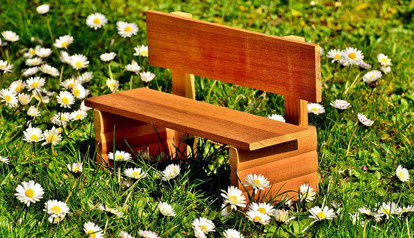 Bench, Meadow, Grass, Bank, Nature, Rest, Sit, Seat