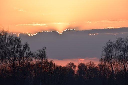 Sunrise, Light, Sun, Nature, Sky, Morning, Landscape