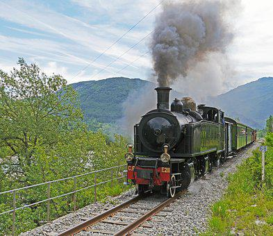 Steam Locomotive, Narrow Gauge, Nostalgia Ride