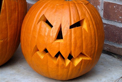 Pumpkin, Jack-o-lantern, Halloween, Scary, Orange