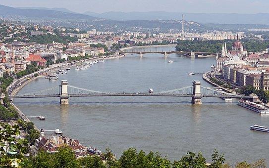 Budapest, Danube, Overview, Chain Bridge