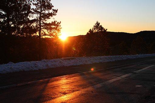 Sunrise, Sun, Sky, Nature, Summer, Sunlight, Landscape
