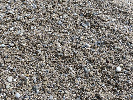 Pebble, Stones, Sand, Mess, Background, Site, Texture