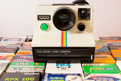 Polaroid, Camera, Analog, Photo, Retro, Old