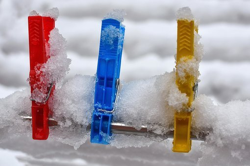 Clothespins, Colorful, Clamp, Plastic, Fixing