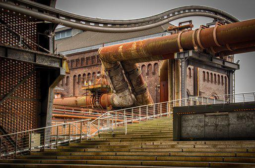 Industry, Culture, Factory, Germany, Architecture, Old