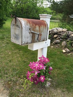 Mail, Letter, Post, Box, Vintage, Mailbox, Delivery