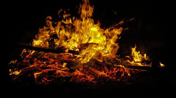 Fire, Easter, Easter Fire, Flame, Blaze, Customs