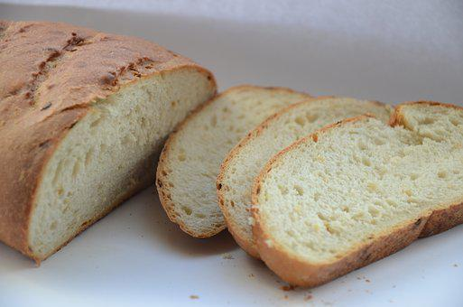 Bread, Loaf, Food, Slicing, Muffin, Nutrition, Baking