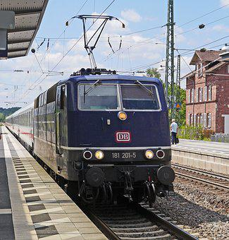 Electric Locomotive, Two System, France-transport, Stay