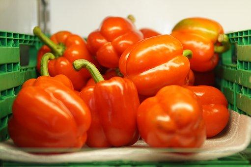 Red, Food, Healthy, Pepper, Vegetable, Fresh, Organic