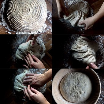 Baking, Collage, Sourdough, Food, Cooking, Homemade