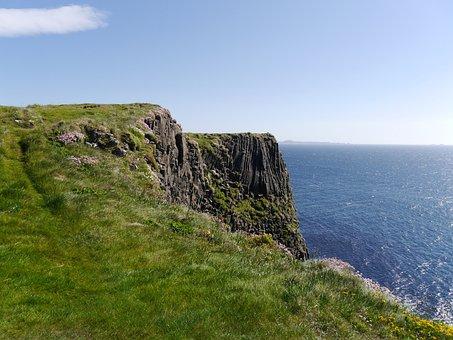 Scotland, Staffa, Sea, Island, Geology, Rock, Landscape