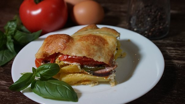 Casserole, Breakfast, Dinner, Meal, Dish, Eating, Fresh