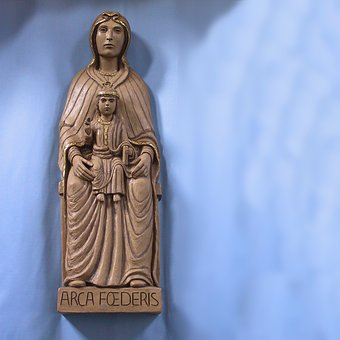 Maria, Mary Statue, Mother, Ikon, Christianity