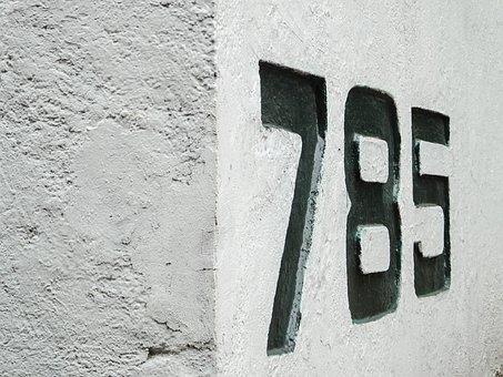Numbers, Street Number, Address, Grunge, Digit, Numeral