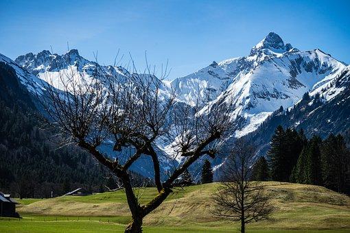 Trettachspitze, Trettachtal, Oberstdorf, Mountains