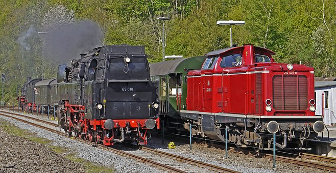 Steam Locomotive, Diesel Locomotive, Railway Museum