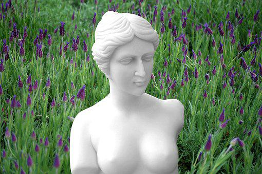 Statue, Woman, Sculpture, Female, Culture, Stone, Old