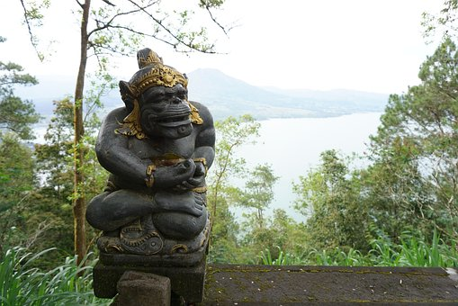 Lake, Nature, Bali, Water, Landscape, Natural, Summer