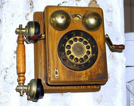 Phone, Old, Communication, Antiques, Vintage, Texture