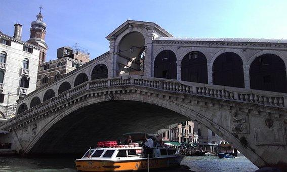 Venice, Boat, Water
