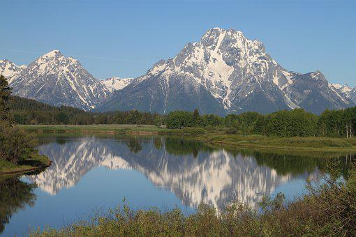 Grand Tetons, National Parks, Wyoming, Mountain