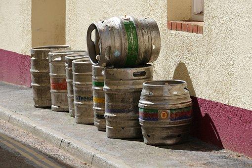 Beer, Barrels, Ale, Alcohol, Drink, Brewery, Pub