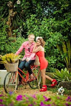 Bike, Bicycle, Love, Girl, Cycle, Lifestyle