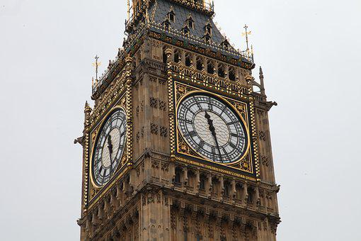 London, Big Ben, Tower, Places Of Interest