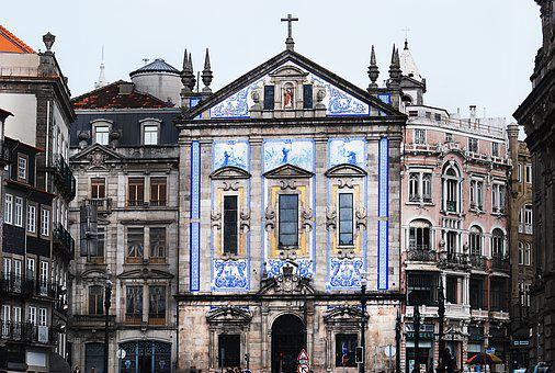 Portugal, Building, Architecture, Facade, Old Building