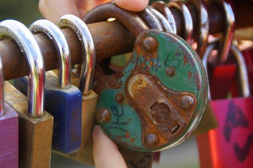 Castles, Padlocks, Love Locks, Colorful, Love, Padlock