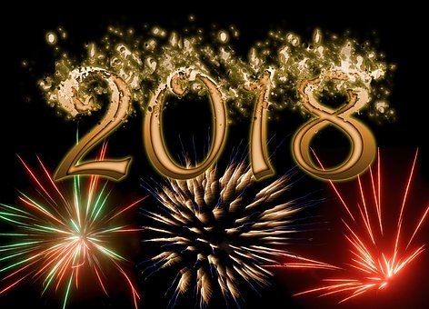 New Year's Eve, 2018, Turn Of The Year, Fireworks