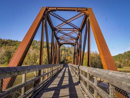 Trestle, Nature, Bridge, Old, Outdoor, Wooden, Scenic