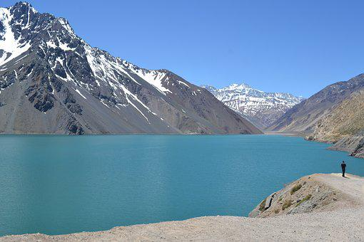 Chile, Lake, Lagoon, Nature, Park, Chilean