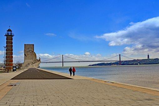 Lisbon, Portugal, Tejo, River
