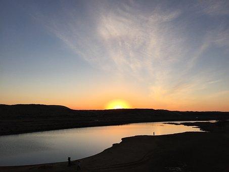 Desert, Nature, Travel, Sunset, Sky