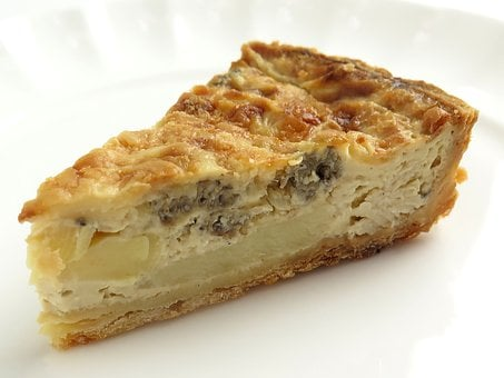 Quiche, Bamboo Shoots, Morel Mushrooms, Cake, Spring