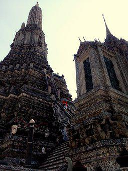 Wat Arun, Measure, Temple