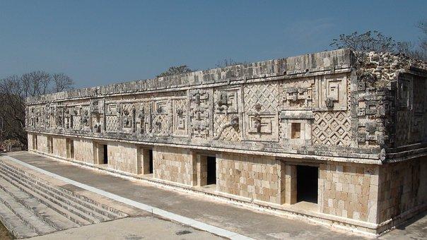 Maya, Mexico, Yucatan, Uxmal