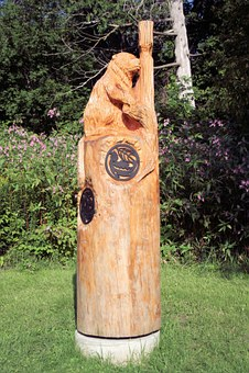 Carving, Wood Carving, Beaver, Mammal, Animal, Canada